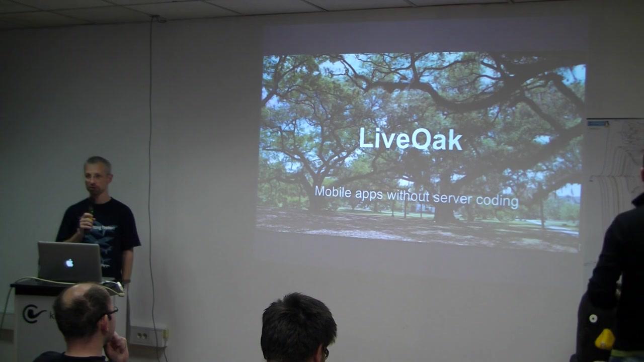 Cafebabe: LiveOak - mobilne aplikacije brez strežniškega programiranja