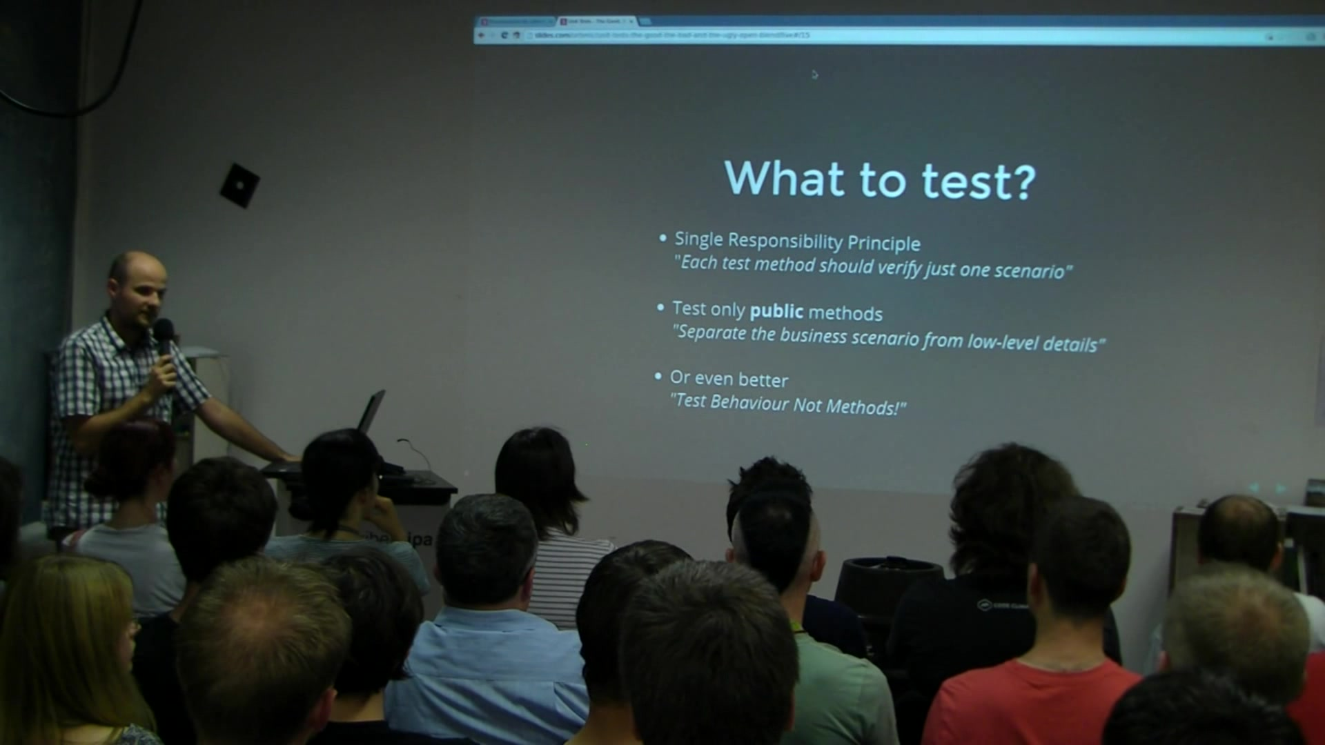 CafeBabe: Unit Tests - The good, The bad and The ugly